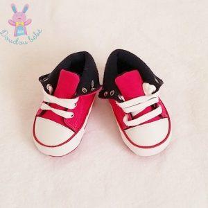 Baskets rose bébé fille 0/3 MOIS