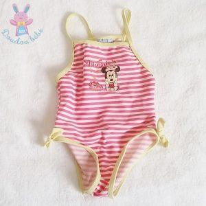 Maillot de bain Minnie bébé fille 12 MOIS DISNEY