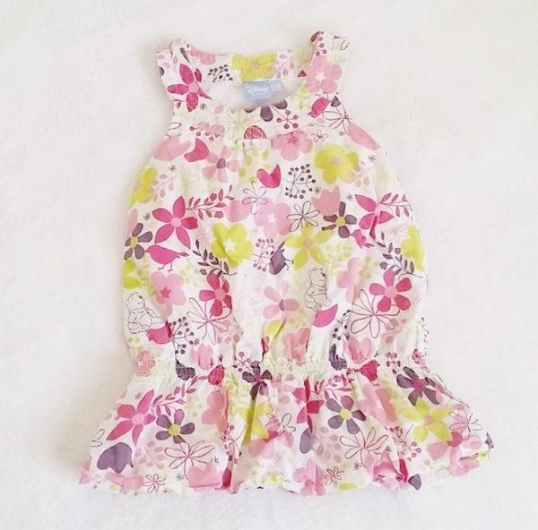 Robe fleurs Winnie bébé fille 12 MOIS DISNEY