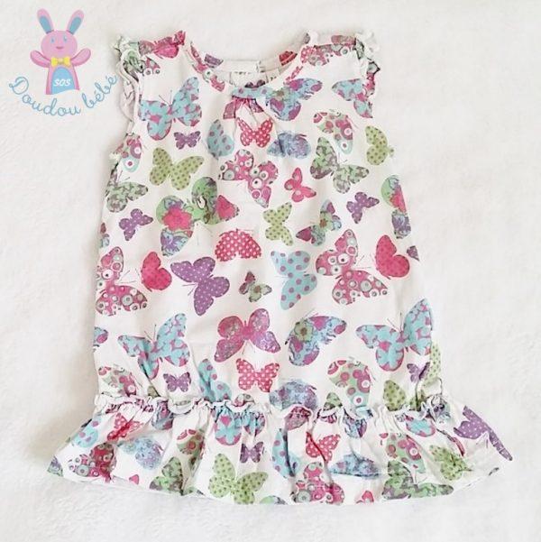 Robe papillons colorés bébé fille 12 MOIS