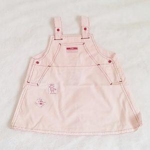 Robe bretelles rose bébé fille 12 MOIS ABSORBA