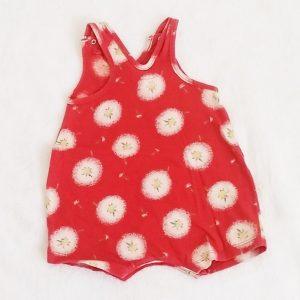 Barboteuse rouge bébé fille 3 MOIS CATIMINI