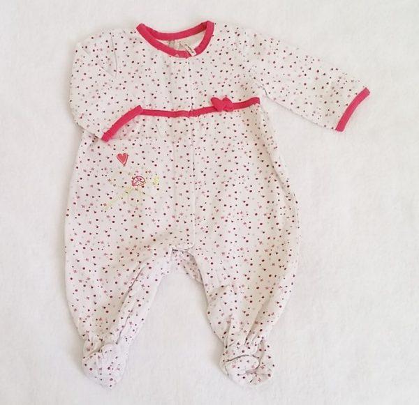 Pyjama coton motifs bébé fille 3 MOIS ORCHESTRA