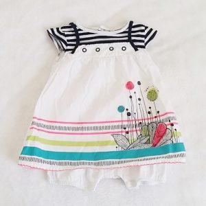 Barboteuse-robe bébé fille 3 MOIS TERRE DE MARINS