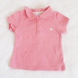 Polo rose bébé fille 3 MOIS