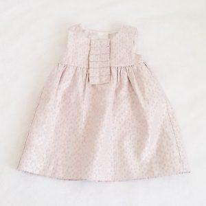 Robe rose à pois bébé fille 6/9 MOIS STAR