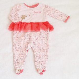 Pyjama coton fée bébé fille 6 MOIS DPAM