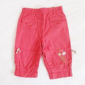 Pantalon léger rose fuchsia bébé fille 6 MOIS