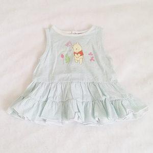 Robe rayée Winnie bébé fille 6 MOIS DISNEY