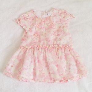 Robe fantaisie rose bébé fille 9 MOIS ORCHESTRA