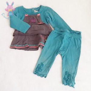 Ensemble robe bébé fille 12 MOIS ORCHESTRA