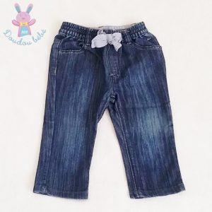 Pantalon jean bleu bébé fille 12 MOIS IKKS