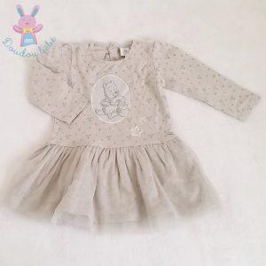 Robe grise Winnie bébé fille 12 MOIS DISNEY