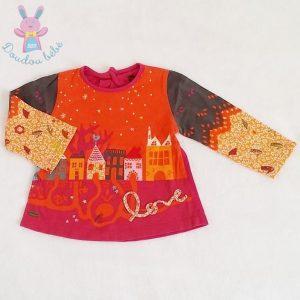 T-shirt coloré bébé fille 12 MOIS CATIMINI