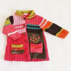 Gilet multicolore bébé fille 12 MOIS CATIMINI