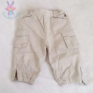 Pantalon beige doublé bébé garçon 12 MOIS OBAIBI