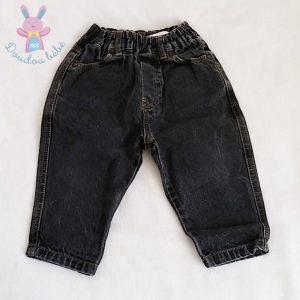 Pantalon jean noir bébé garçon 12 MOIS