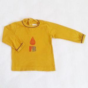 T-shirt moutarde bébé garçon 12 MOIS PETIT BATEAU