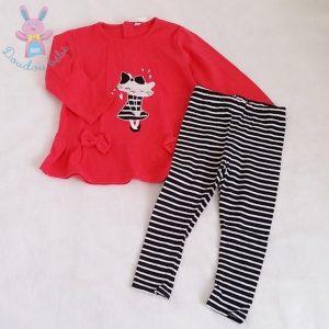 Ensemble T-shirt + Legging bébé fille 18 MOIS