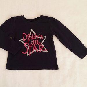 T-shirt marine bébé fille 18/24 MOIS PRIMARK