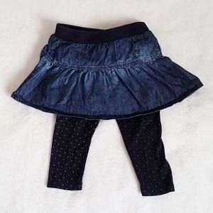 Jupe jean legging bébé fille 18 MOIS GRAIN DE BLE