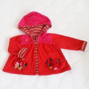 Gilet réversible coloré bébé fille 18 MOIS CATIMINI