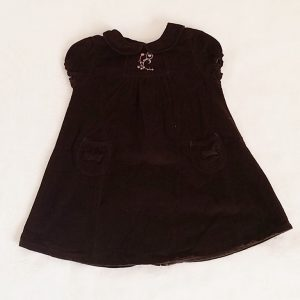Robe velours chocolat bébé fille 18 MOIS BOUT'CHOU