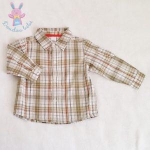 Chemise à carreaux bébé garçon 18 MOIS DISNEY