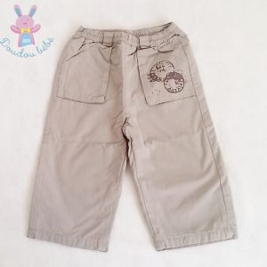 Pantalon gris bébé garçon 18 MOIS VERTBAUDET