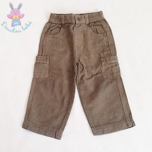Pantalon marron bébé garçon 18 MOIS