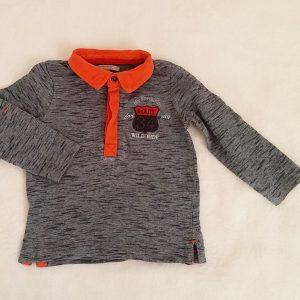 Polo marine et orange bébé garçon 18 MOIS PREMAMAN