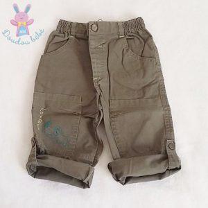 Pantalon kaki bébé garçon 18 MOIS ORCHESTRA