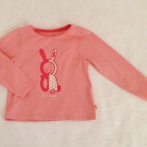 T-shirt rose bébé fille 24 MOIS OBAIBI