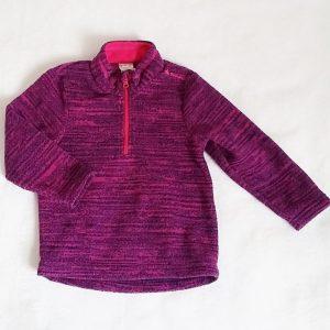Sweat polaire violet rose bébé fille 24 MOIS QUECHUA