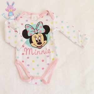 Body fantaisie Minnie bébé fille 3 MOIS DISNEY