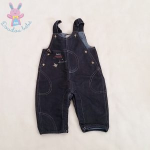 Salopette jean bleu foncé bébé garçon 3 MOIS NATALYS