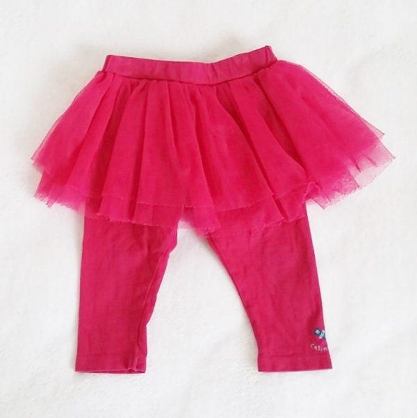 Legging jupe tulle rose bébé fille 6 mois CATIMINI