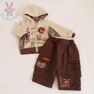 Ensemble Sweat + Pantalon bébé garçon 6 MOIS
