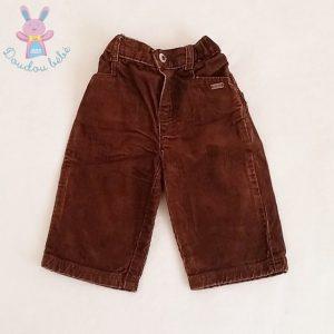Pantalon velours marron bébé garçon 6 MOIS OBAIBI