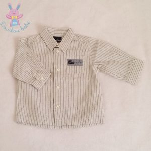 Chemise rayée bébé garçon 6 MOIS SERGENT MAJOR