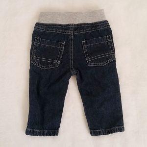 Pantalon jean bleu gris bébé garçon 6 MOIS