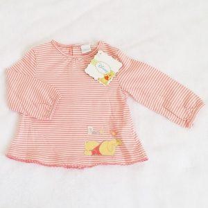 T-shirt rayé Winnie bébé fille 6 MOIS DISNEY