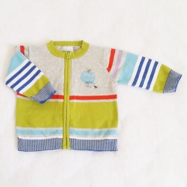 Gilet coloré bébé garçon 6 mois CATIMINI