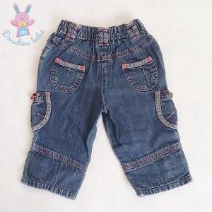 Pantalon jean bébé fille 9 MOIS SERGENT MAJOR