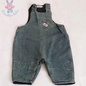 Salopette jean bleu bébé garçon 9 MOIS SERGENT MAJOR