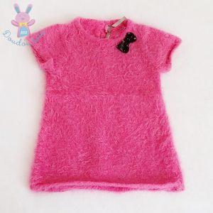 Robe rose bébé fille 9 MOIS ORCHESTRA