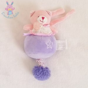 Chat musical Lovely fraise DOUDOU ET COMPAGNIE
