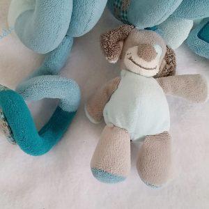 Spirale d'activités Gaston et Cyril bleu jouet bébé NATTOU