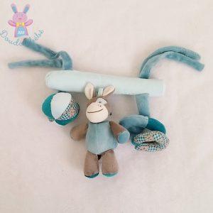 Trapèze bleu Gaston et Cyril jouet éveil bébé NATTOU