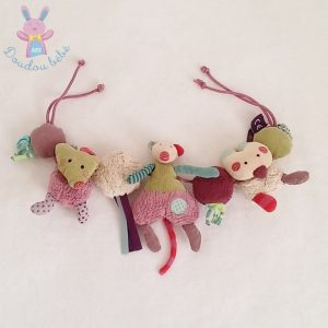 Boulier «Les jolis pas beaux» jouet éveil bébé MOULIN ROTY
